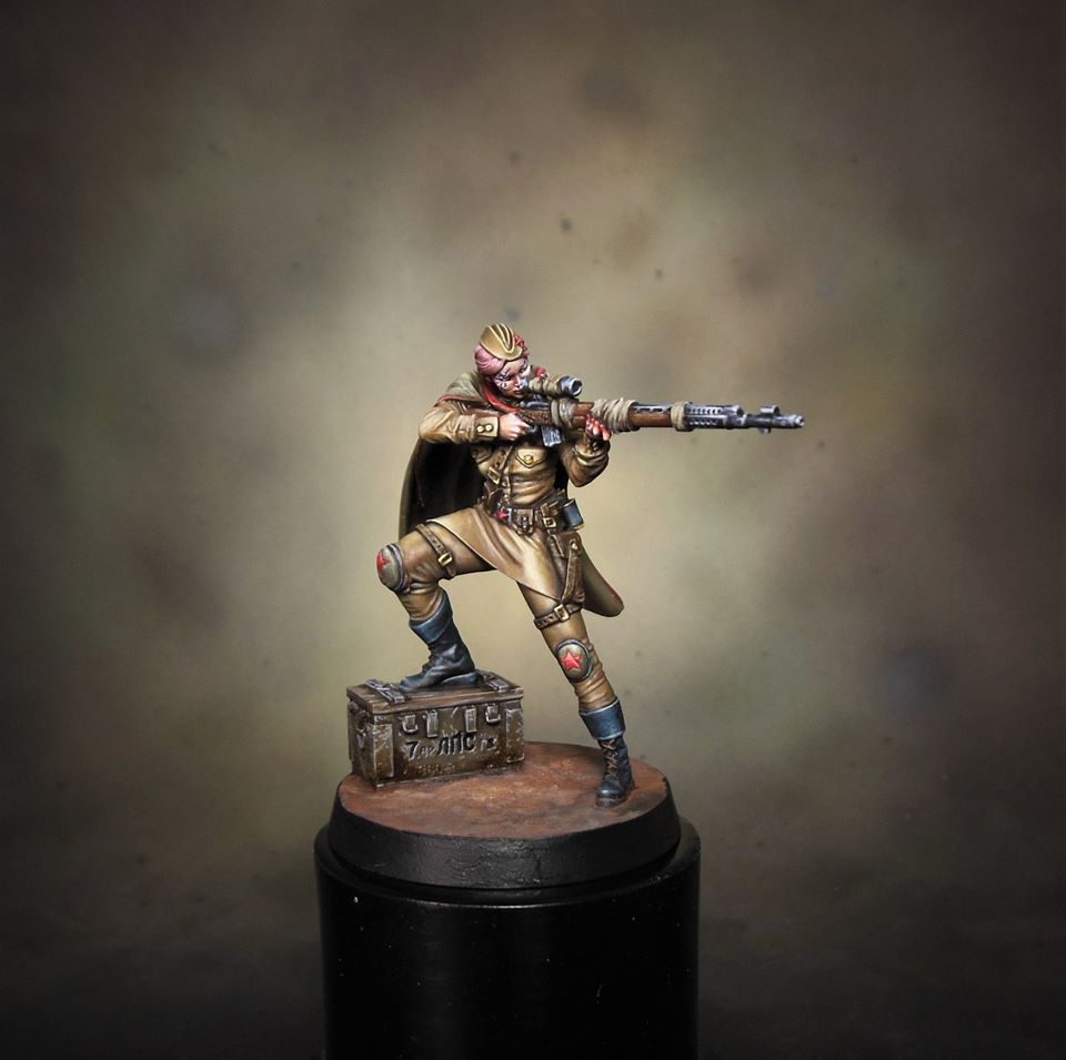 Reich Busters Miniatures #3 - Mythic Games