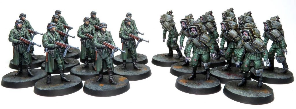 Reich Busters Nazis - Mythic Games