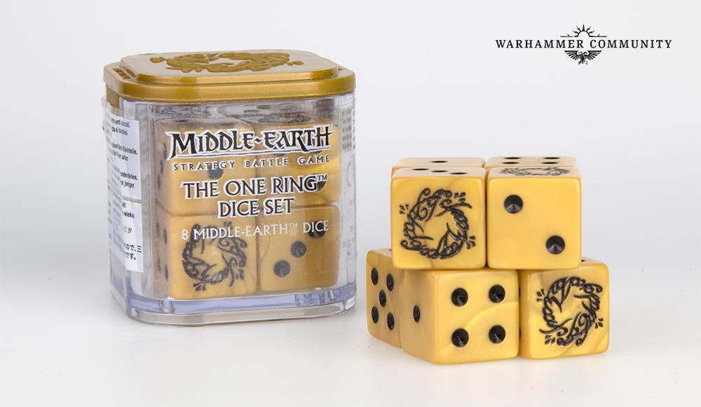 Ring Dice - Middle-earth Strategy Battle Game