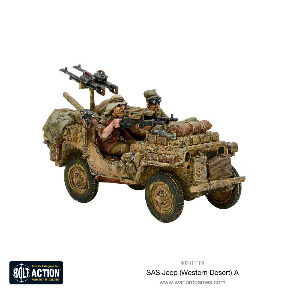 SAS Jeep A - Bolt Action