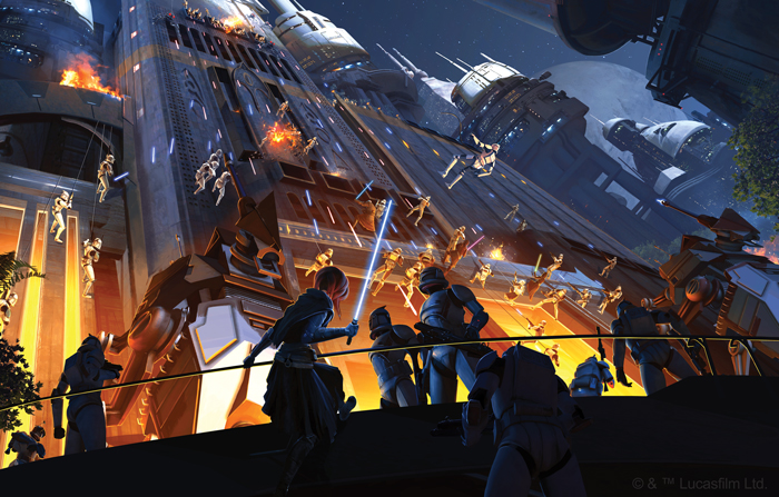 Star Wars Edge Of The Empire Rise Of The Separatists Art #2 - FFG