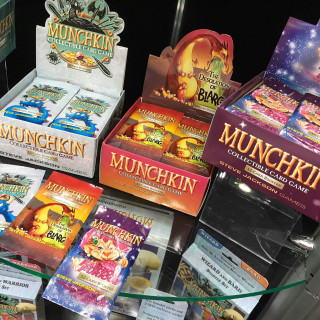 Steve Jackson Take Munchkin To The Grim Darkness Of The Far Future [Comment To Win!]