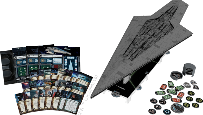 Super Star Destroyer (Contents) - Star Wars Armada
