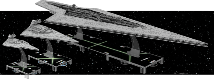 Super Star Destroyer (Scale) - Star Wars Armada