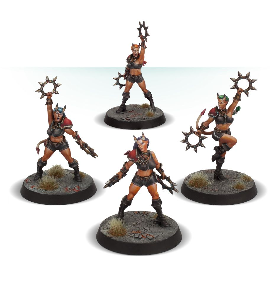 The Damned Damsels - Blood Bowl