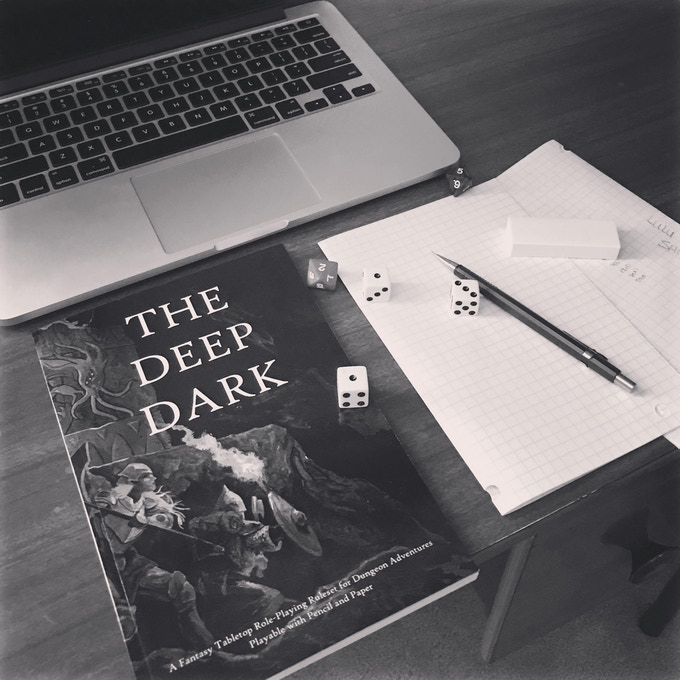 The Deep Dark RPG