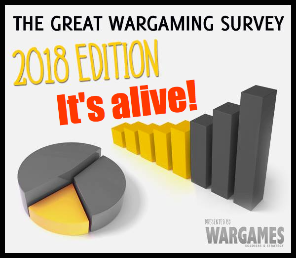 The Great Wargaming Survey 2018 - Wargames Soldiers & Strategy