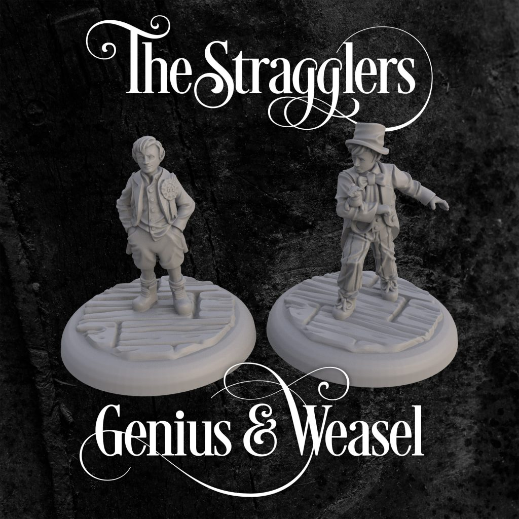 The Stragglers Genius & Weasel - Workhouse Games