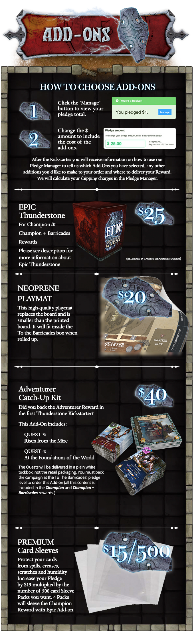Thunderstone Quest Add-Ons