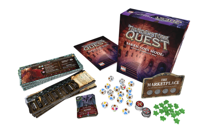 Thunderstone Quest Barricade Mode - AEG