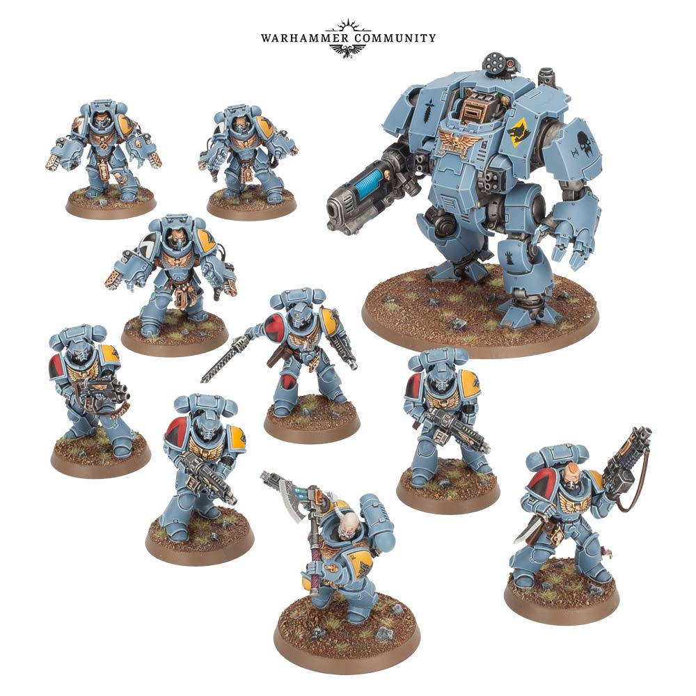 Tooth & Claw Space Wolves - Games Workshop