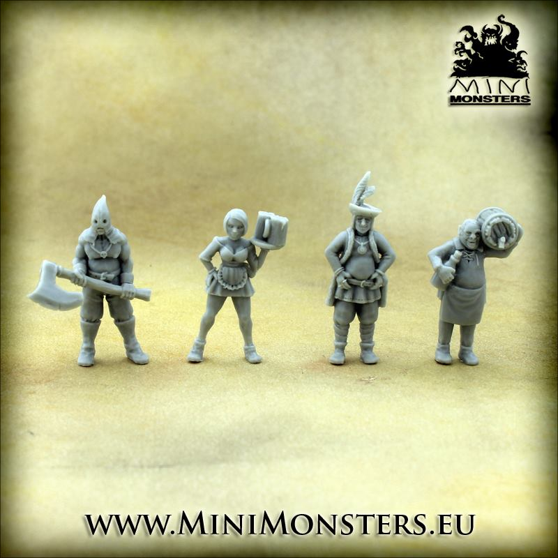 Town Residents - MiniMonsters