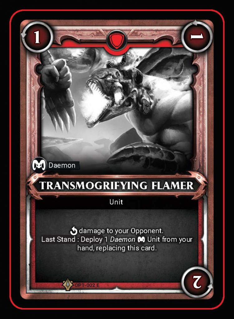 Transmogrifying Flamer - Age Of Sigmar Champions