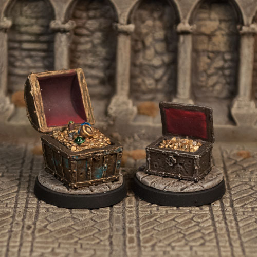 Treasure Chests I - Otherworld Miniatures