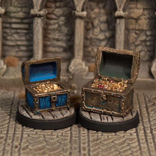 Treasure Chests II - Otherworld Miniatures