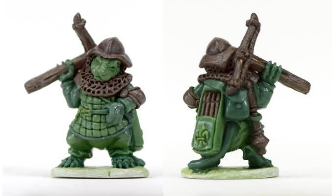 Tubby Mouse Soldier - Oathsworn Miniatures