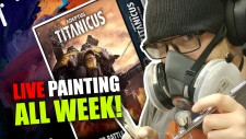 Painting Adeptus Titanicus LIVE ALL WEEK