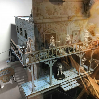 Step Into Warcradle's Saloon For Wild West Exodus And Dystopian Wars [Comment To Win!]