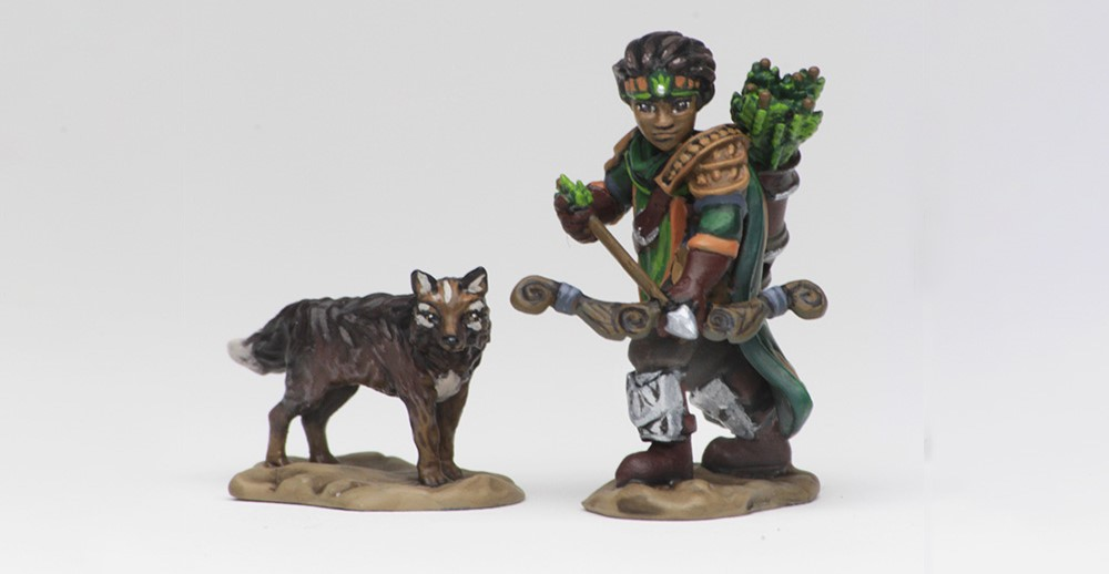 Wardlings Boy Ranger - WizKids