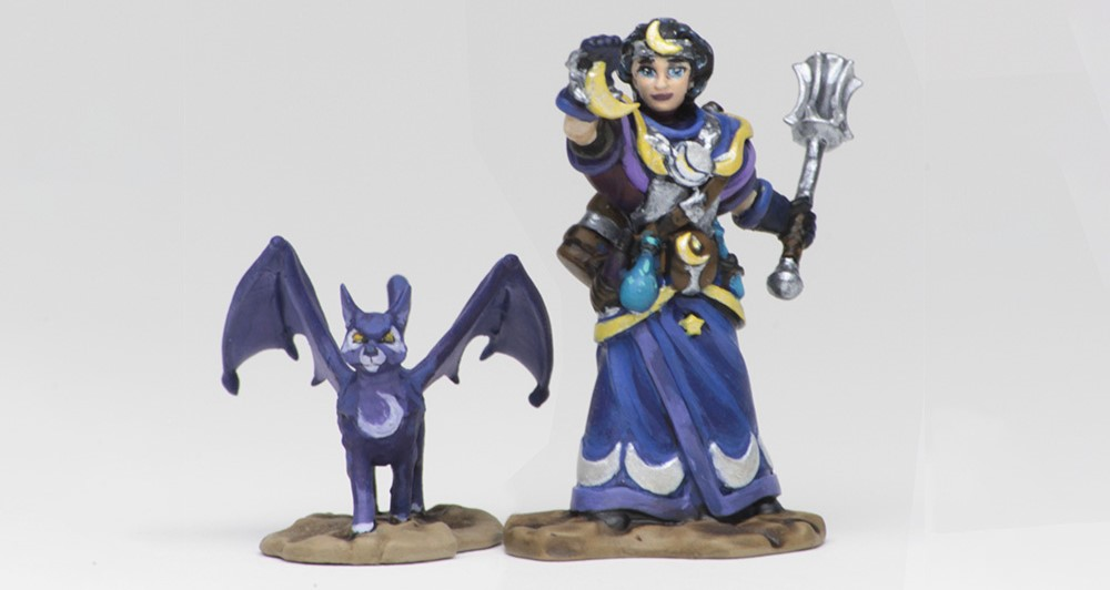 Wardlings Girl Cleric - WizKids