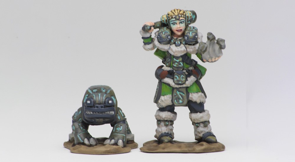 Wardlings Girl Druid - WizKids
