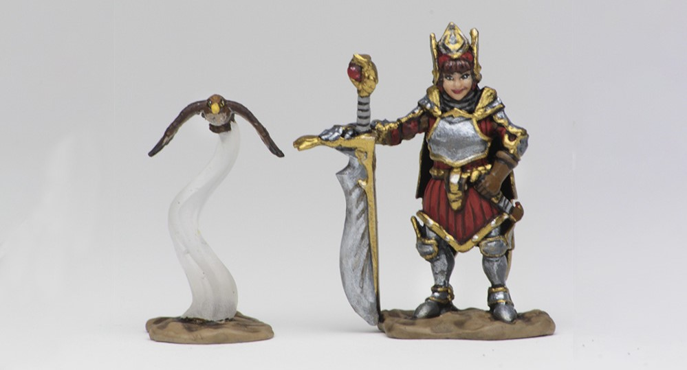 Wardlings Girl Fighter - WizKids