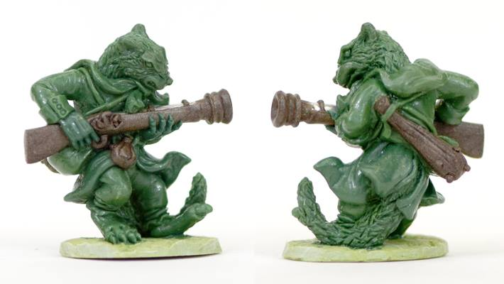 Weasel With Blunderbuss - Oathsworn Miniatures