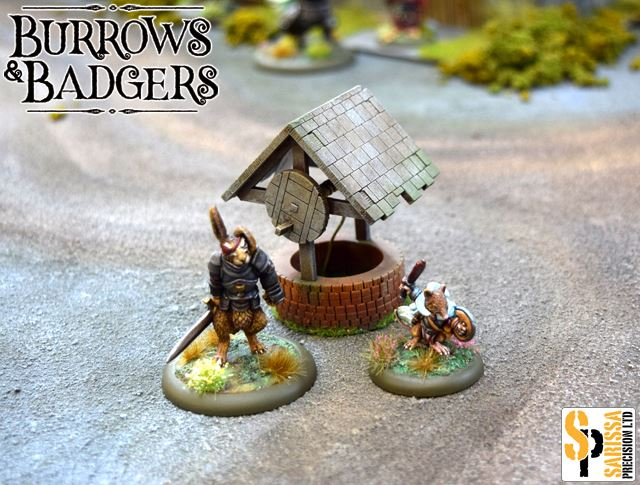 Well - Burrows & Badgers