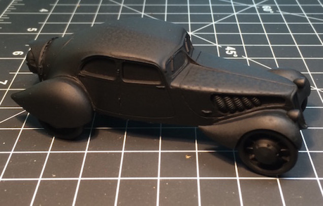 Black with tinted windows just seems to fit Ash and Oak. Well, that's the plan.
