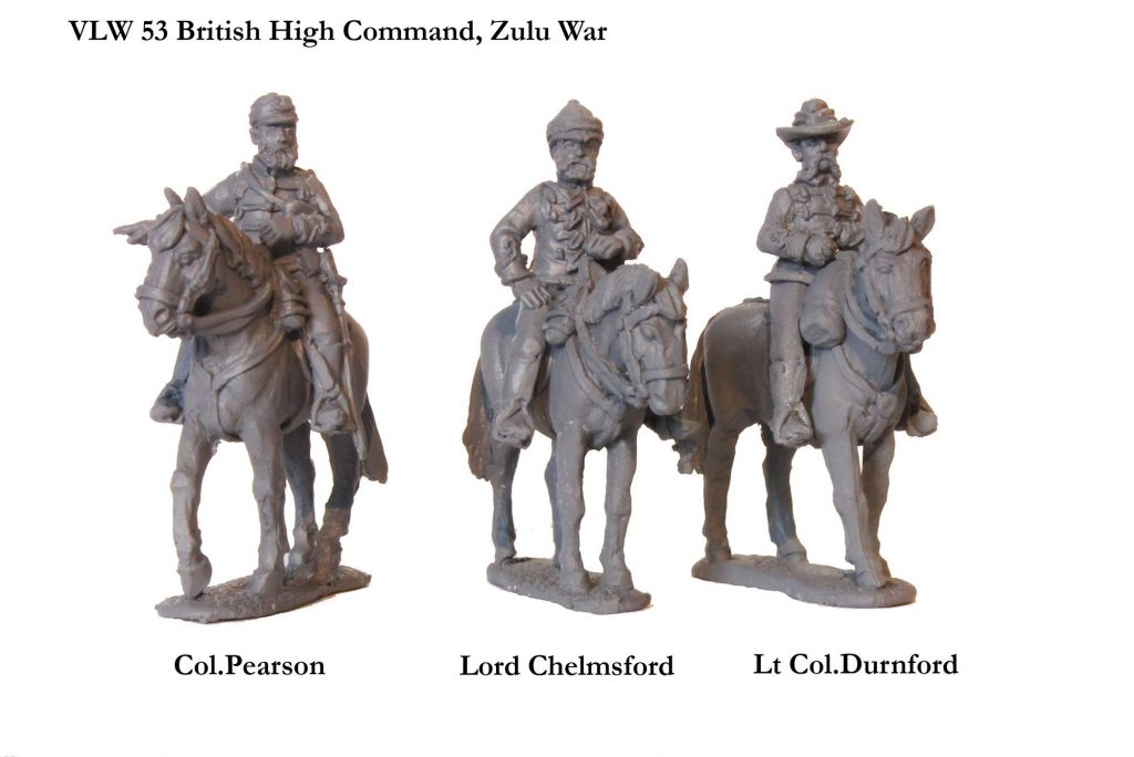 Zulu Wars High Command - Perry Miniatures