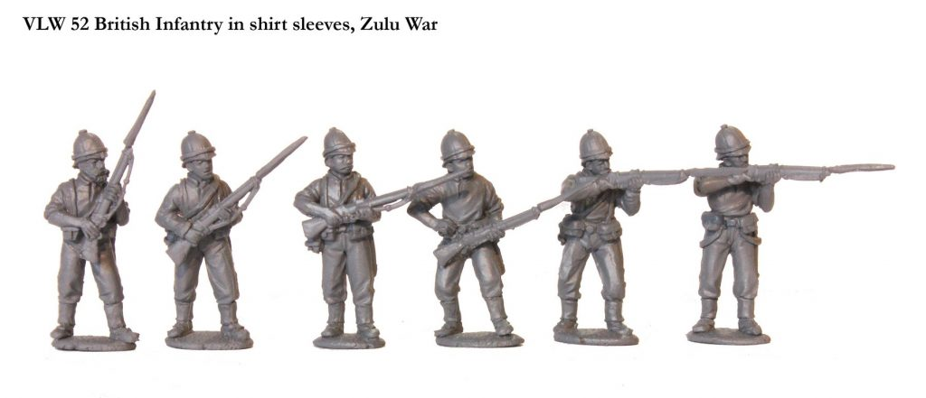 Zulu Wars British Infantry In Shirt Sleeves - Perry Miniatures