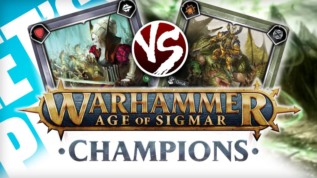 Let's Play - Warhammer Age of Sigmar: Champions [Destruction vs Death]