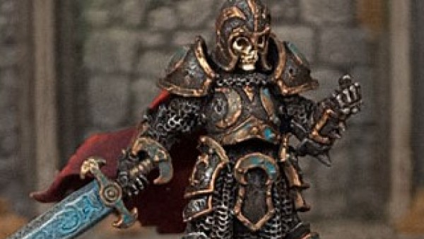Otherworld's New Death Knight Defends A Dark Dungeon