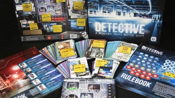 Detective: A Modern Crime Board Game Brings Sleuthing Online