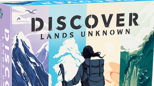 FFG Announce Another Unique Game – Discover: Lands Unknown
