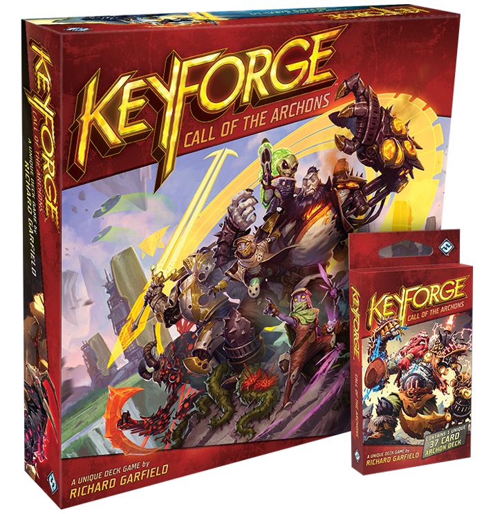 Designer Richard Garfield Opens Up About Keyforge Ahead Of Release Ontabletop Home Of Beasts Of War