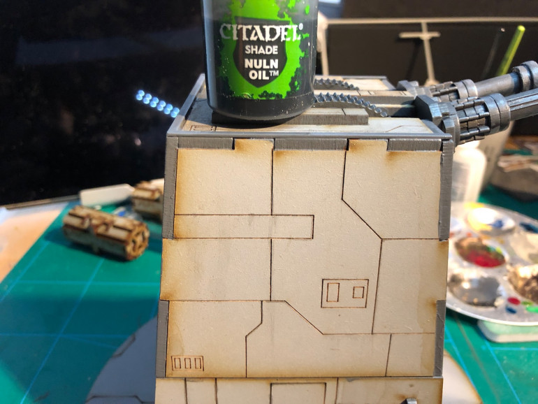Painting the Laser turret