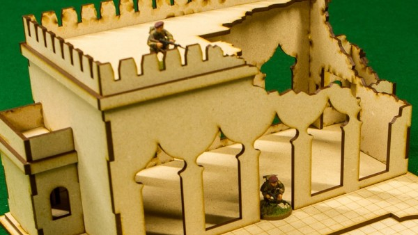 GameCraft Miniatures Create A Middle-Eastern Terrainscape
