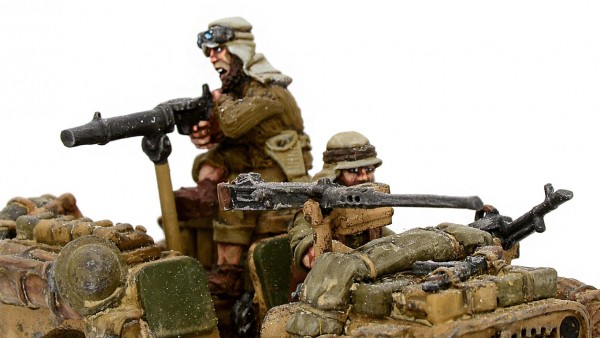 Warlord Hop Into SAS Jeeps & Rush Towards The Bolt Action Front Lines