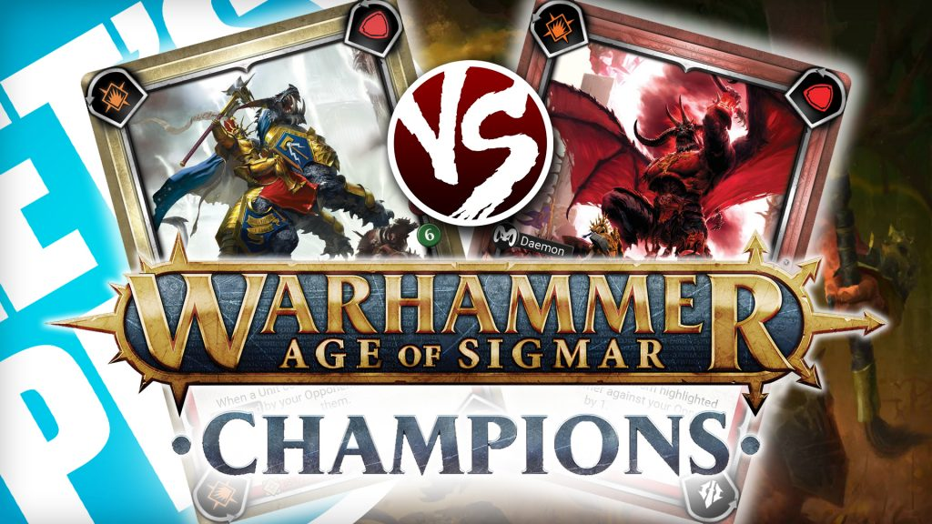 Let's Play: Warhammer Age of Sigmar - Champions [Order vs Chaos]