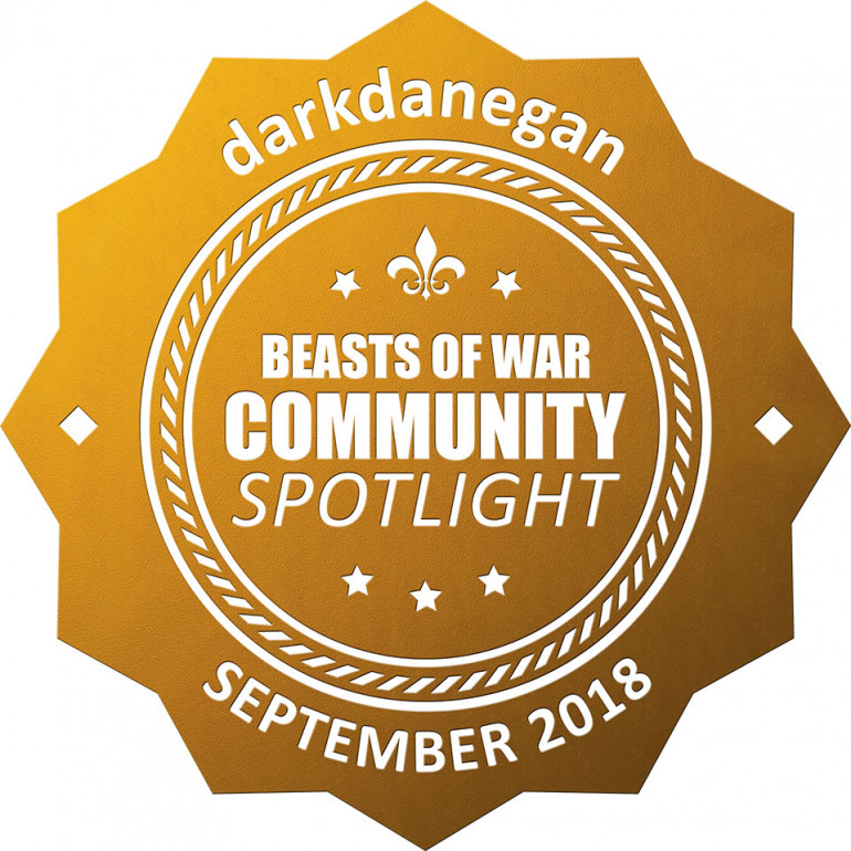 Thank you BoW team for the golden button in this week's community spotlight!