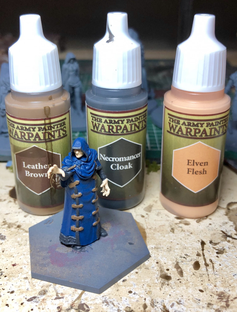 Elven flesh to keep him nice and pale!