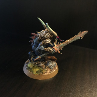 My first test miniature for this project.