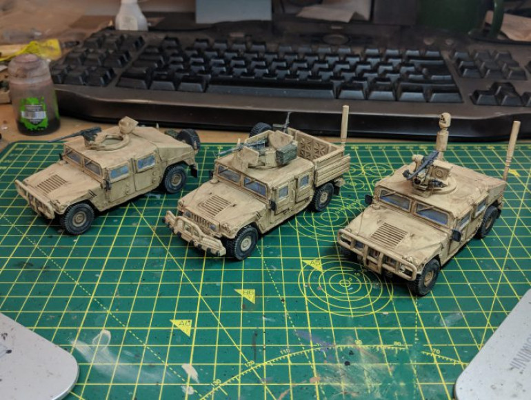 PROJECT HUMVEE – WEAPON OPTIONS
