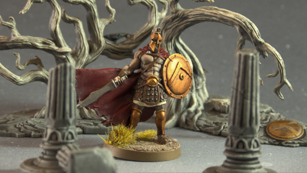 How to paint Mythic Battles Pantheon Spartans