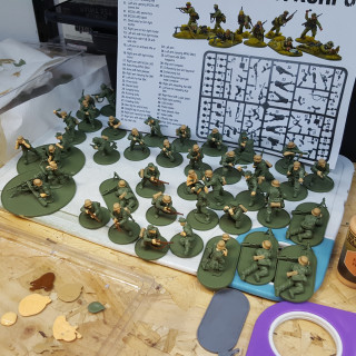 Getting Stuck Into Painting Bolt Action Germans