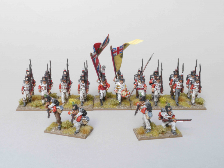1/88th with skirmishers deployed