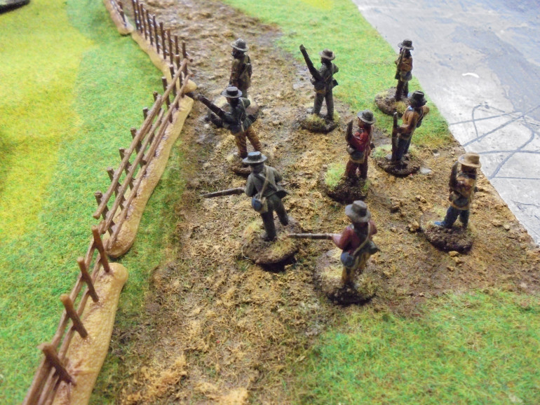 The Confederate Deployment