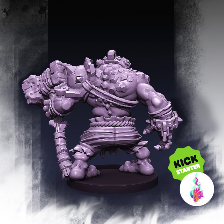 Cave Troll Stone Breaker Preview :)