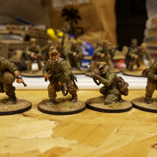 Looking Swanky In The Desert, Superbly Painted Desert Soldiers